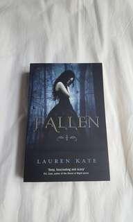 Fallen novel