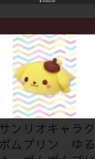Toreba Yurukawa Sanrio Pompom purin plushy toy