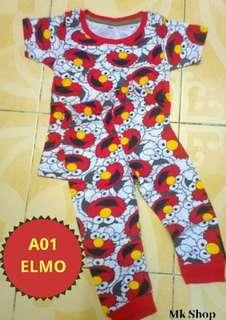 🔥🔥CLEARANCE STOK 🔥🔥PYJAMAS COTTON (BABY) FULL PRINTED (New Born-24month)