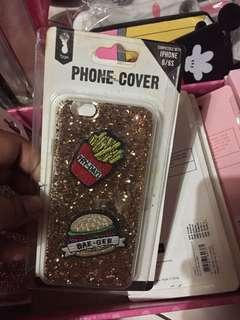 Iphone 6 Casing Glitter Fries