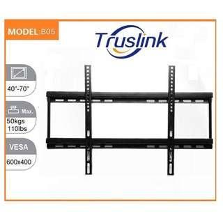 B05 TV Wall Mount Bracket Holder Stand MAX Load 50KG For 40-70 Inch LED LCD Monitor 3D Flat Panel TV Mount VESA U.P. to 600X400 Adjustable