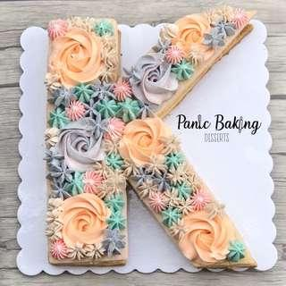Letter/Number cakes