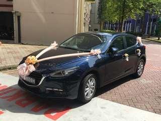 Wedding car decoration material $45G