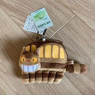 日本 宮崎駿 龍貓巴士 票卡夾
