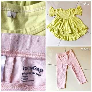 Setelan Baju Anak 2psg Size 3th