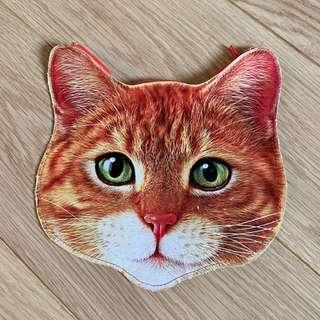 橘貓 大頭包 收納包