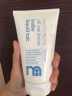 Mothercare Liquid Talc