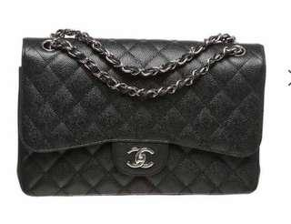 Chanel double flap Jumbo classic 2.55 bag
