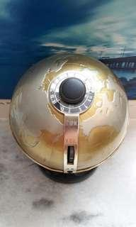 Art Deco World Globe Transistor Radio