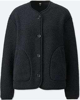 Uniqlo Fleece Collarless Jacket
