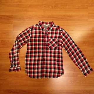 🚚 Pre-loved H&M Long Sleeve Shirt for boys - 9-10Y