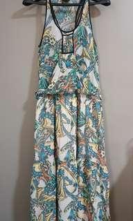 Topshop long summer dress
