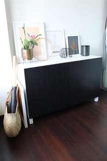 🚚 IKEA Besta Storage unit with doors 120cm
