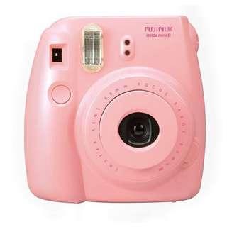 全新即影即有相機mini 8 (pink)