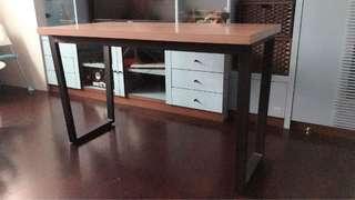 工業風餐桌 工作桌