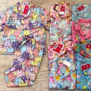 Kids  and baby pyjamas... Please pm me first to choose your design and size.. Tq