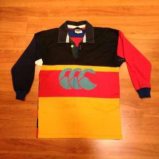 🚚 Pre-loved Canterbury of New Zealand Rugby Long Sleeve Shirt - 10Y