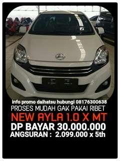 Daihatsu Ayla PROMO ANGSURAN 2.099.000