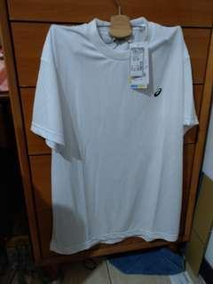 日本帶回簡普亞瑟士白色T-shirt 2L