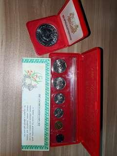1987 Uncirculated Coin Set