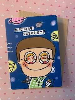 台灣製造 情人節心意卡 送禮 情侶 卡通賀卡