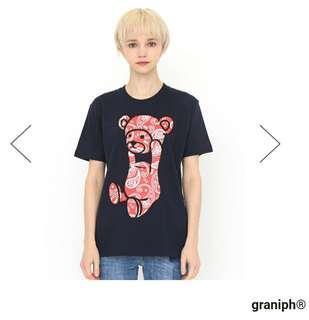 日本代購 Design Tshirts Store graniph Control Bear 系列 Tee 男女裝款GH