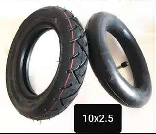 Brand new CST 10x2.50 tyre tube