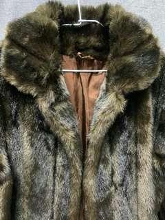 🚚 法國仿皮草大衣