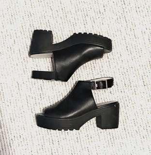 Topshop chunky heels