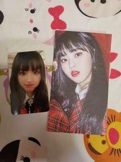 [CLC Black Dress]權恩彬Eunbin小卡+postcard