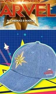Selling Limited Edition captain marvel cap while stock last