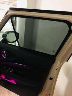 Magnetic sun shades for MINI Cooper Clubman F54