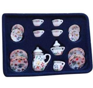 🚚 Mini Ceramic Tea Pot Set