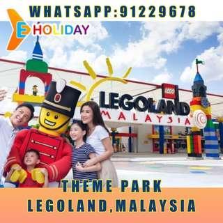 Legoland Malaysia/theme park/themepark Eticket 乐高乐园 门票