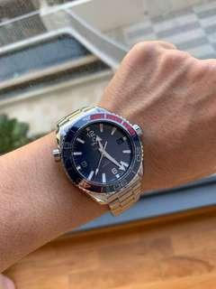 MEGA SALE!! New Omega Seamaster Planet Ocean 43.5mm Pyeongchang 2018 Olympic Limited Edition