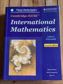 IGCSE International Mathematics (0607 Extended) Second Edition