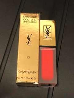 🆕YSL Tatouage Couture Matte Stain #13 True Orange
