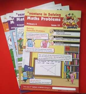 +venture in Solving Maths Problems - Primary 6