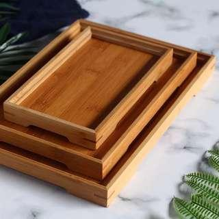 Wooden Dessert Snack Serving Tray for Dessert Table