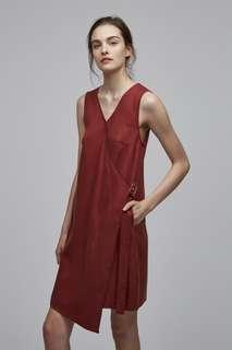 🚚 Size XS OSN Tencel Buckle Dress