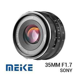 Meike 35mm f1.7 for Sony e, canon, fujifilm