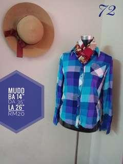 MUDD flannel Blouse
