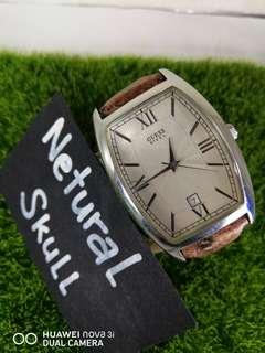 AUTHENTIC GUESS STEEL WITH DATE