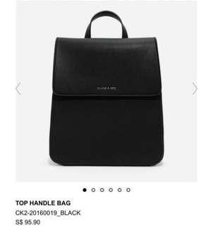 🚚 Charles & Keith Backpack (Top handle bag)