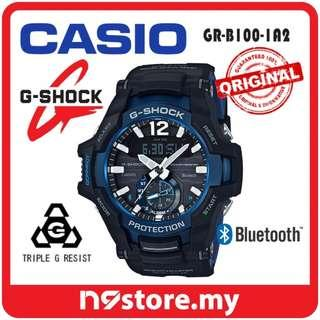 CASIO G-SHOCK GRAVITYMASTER GR-B100-1A2 PHONE FINDER BLUETOOTH SMART WATCH