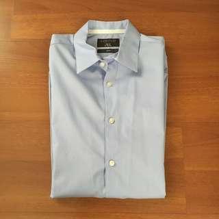 Marks & Spencer (M&S) Blue Long Sleeved Shirt