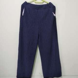 Celana Kulot Biru Navy
