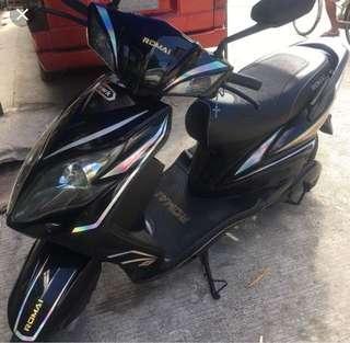 romai-hawk black ebike