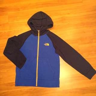 🚚 Pre-loved The North Face Boys Hoodie Zip Jacket - 10-12Y