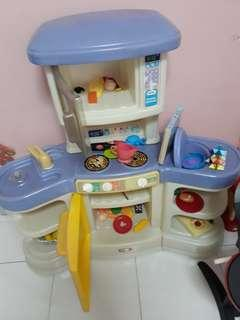 Baby Kitchen Set With Toys Included
